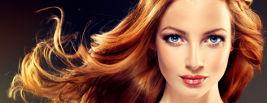 Jeune femme avec une jolie coiffure