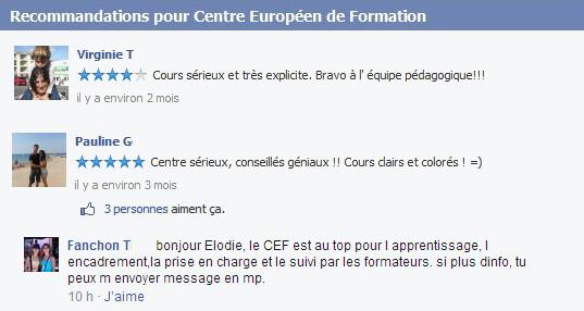 auxiliaire de puériculture au centre européen de formation