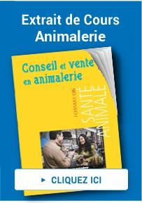 cours conseiller en animalerie
