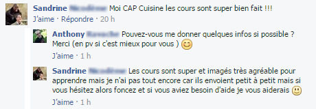 formation cap cuisine