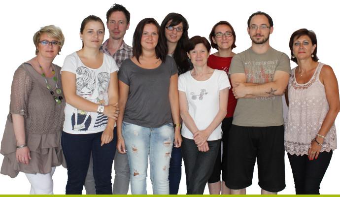 équipe administrative du centre européen de formation