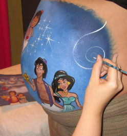 Belly Painting de Stephanie Poughon