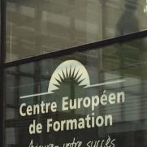 Devanture des nouveaux locaux du Centre Européen de Formation