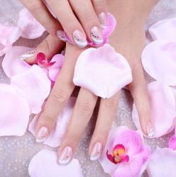 Nail Art avec des fleurs