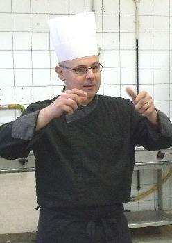 Jean Claude Lequain, ancien chef cuisinier et professeur de cuisine