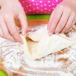 Préparation d'une pâte brisée