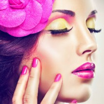Maquillage floral