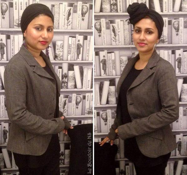 Sharmeen et Nasreen Surendran dans leur institut de beauté Le Boudoir de NS