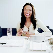 Femme en reconversion professionnelle
