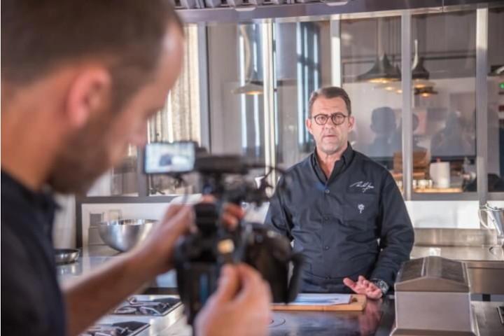 cap cuisine avec Michel Sarran
