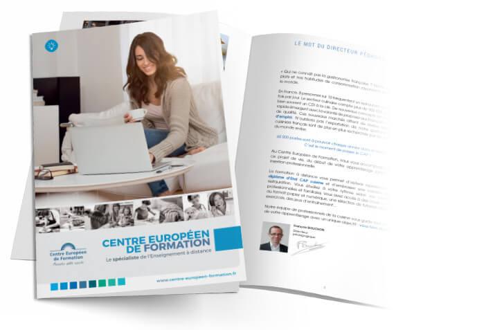 Brochure Formations du Centre Européen de Formation