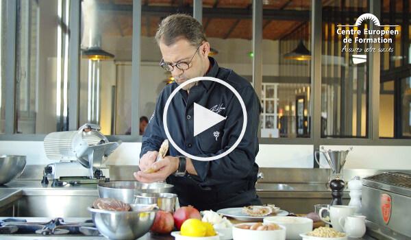 Michel sarran un parrain 2 toiles pour la formation cap cusine - Formation cuisine a distance ...