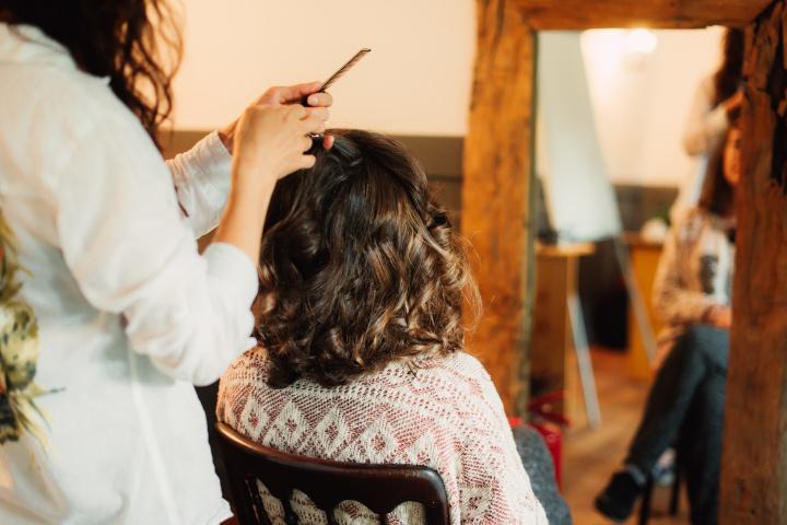 salon de coiffure à domicile
