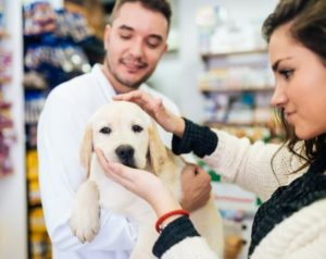 vendeur en animalerie