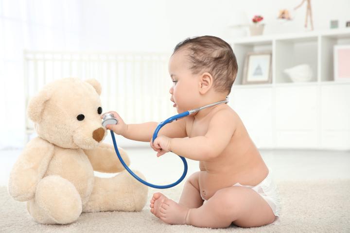 toux de bébé