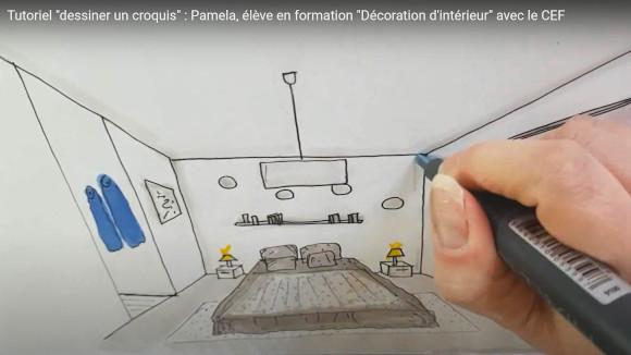 tutoriel dessiner un croquis