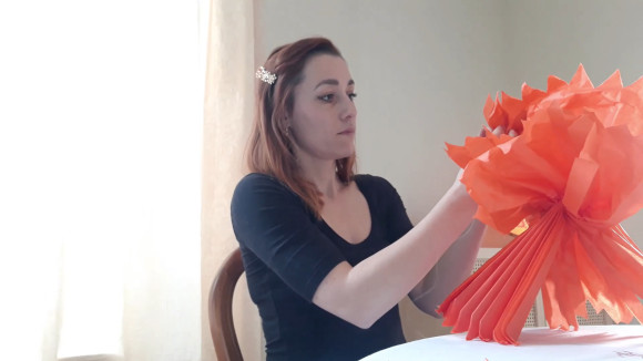 tutoriel décoration pompon Laura