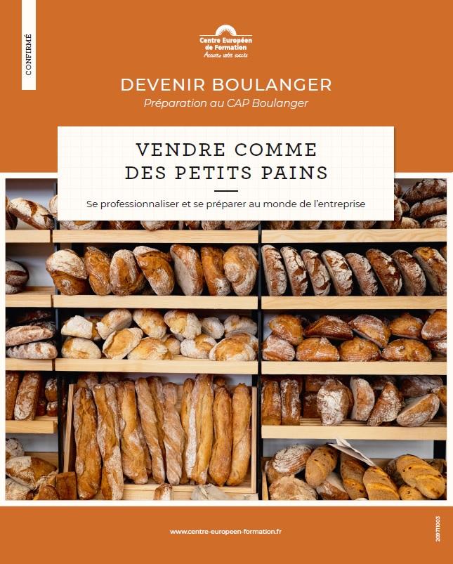 programme CAP Boulanger